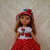 Платье и шляпка для Паолы