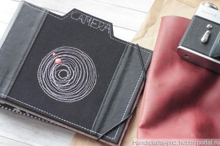 Альбом в виде фотоаппарата ручной работы на заказ