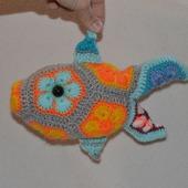 Рыбка. Африканский цветок