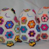 Подушечки совушки-сплюшки. Африканский цветок