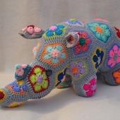 Носорог Тимбер. Африканский цветок