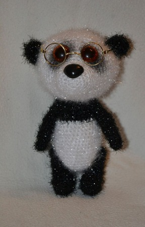 Панда Альберт ручной работы на заказ