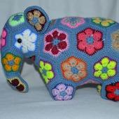 Радужный Слон. Африканский цветок