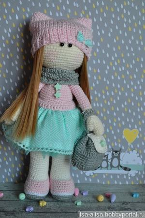 Интерьерная кукла Тильда ручной работы на заказ