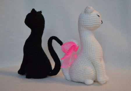 Коты. Инь и Янь ручной работы на заказ