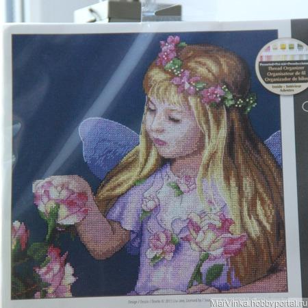 """Dimensions  35297 """"Rose Fairy"""" / Фея роз ручной работы на заказ"""