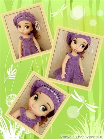 Одежда  на кукол Дисней Аниматорс ручной работы на заказ