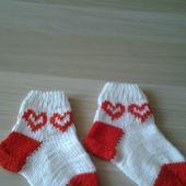 """Детские носочки """"Сердце"""""""