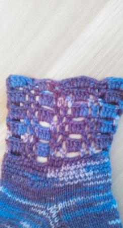 Носки меланж ручной работы на заказ