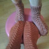 Носки для мамы и дочки