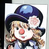 Девочка клоун