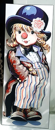 Девочка клоун ручной работы на заказ