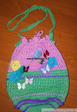 Девичья сумочка 3 ручной работы на заказ