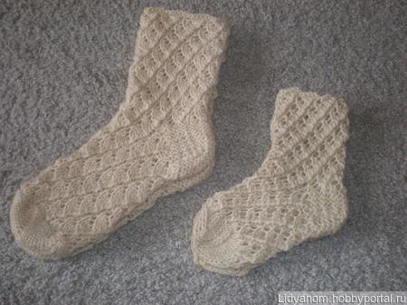 Шерстяные носки ручной работы на заказ