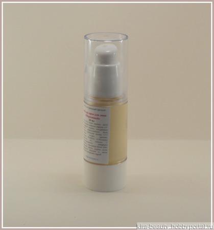 Морковный. Натуральный anty-age крем для лица (45+) ручной работы на заказ