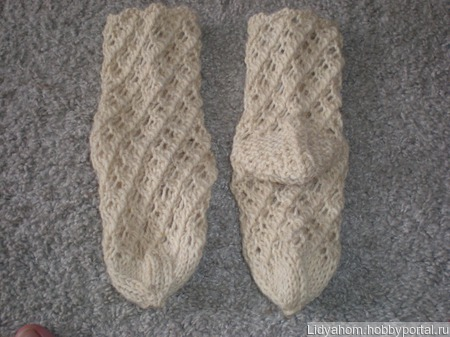 Шерстяные детские носочки ручной работы на заказ