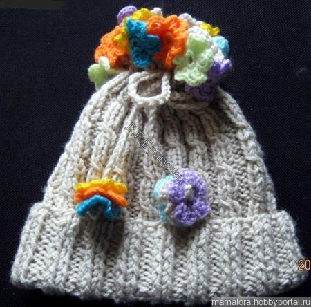 Детские шапочки ручной работы на заказ