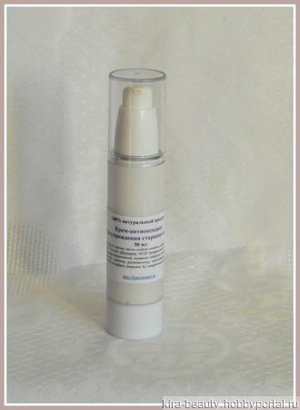 Крем-антиоксидант для предупреждения старения кожи (25+), день/ночь ручной работы на заказ