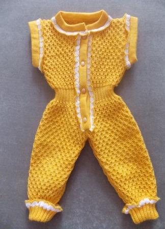 Комбинезон для новорождённого ручной работы на заказ