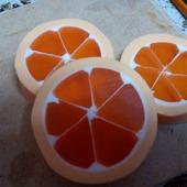 Мыло ручной работы.Сочный апельсин