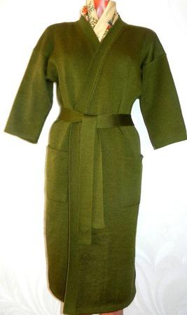 Кардиган-кимоно (пальто) оверсайз ручной работы на заказ