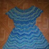 Платье-туника  по  мотивам  Полины Крайновой