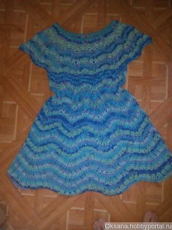 Платье-туника  по  мотивам  Полины Крайновой ручной работы на заказ