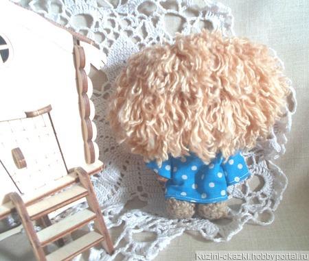 Кофейная игрушка Домовенок Кузя ручной работы на заказ
