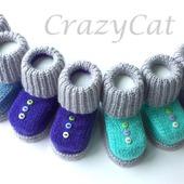 фото: пинетки для малышей