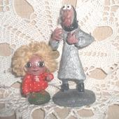 Баба-Яга и Домовенок Кузя