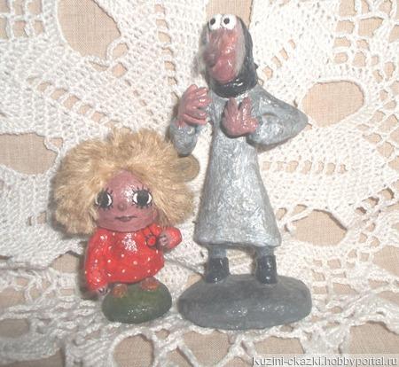 Баба-Яга и Домовенок Кузя ручной работы на заказ