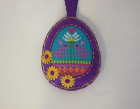 Яйцо пасхальное из фетра ручной работы на заказ