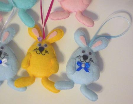 Кролик пасхальный ручной работы на заказ