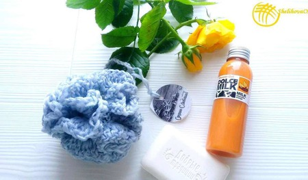 3D мочалка-шар ручной работы на заказ