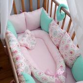 Бортики в кроватку для новорожденных, Россия