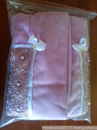 Одеялко на выписку ручной работы на заказ
