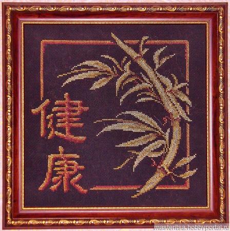 """Ветка бамбука"" ручной работы на заказ"