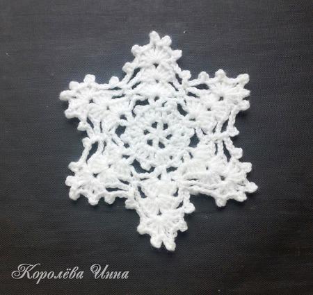 Снежинки ручной работы на заказ
