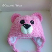 Детская шапочка Плюшевый мишка