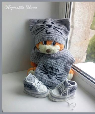 Детский комплект Котя ручной работы на заказ