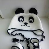 Детская шапочка Панда