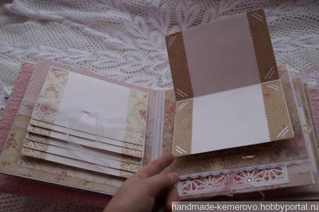 Альбом для девочки «Цветочек жизни» ручной работы на заказ