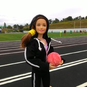 Спортивный костюм для Барби
