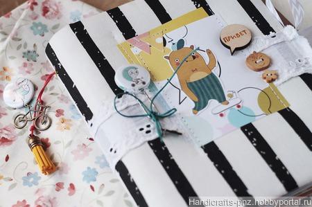 Детский летний фотоальбом ручной работы на заказ