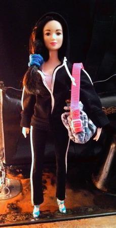 Спортивный костюм для Барби ручной работы на заказ