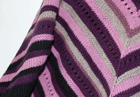 "Пуловер ""Ночная фиалка"" ручной работы на заказ"