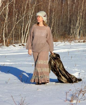 """Ажурный пуловер """"Нежность зимы"""" ручной работы на заказ"""