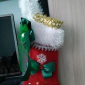 Носок новогодний