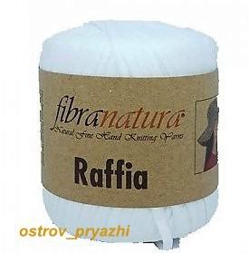 Raffia белый ручной работы на заказ