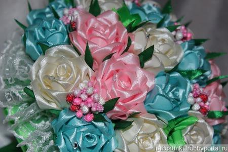 """Букет дублер """"Чудесные розы"""" ручной работы на заказ"""